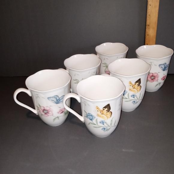 Lenox coffee cups 6